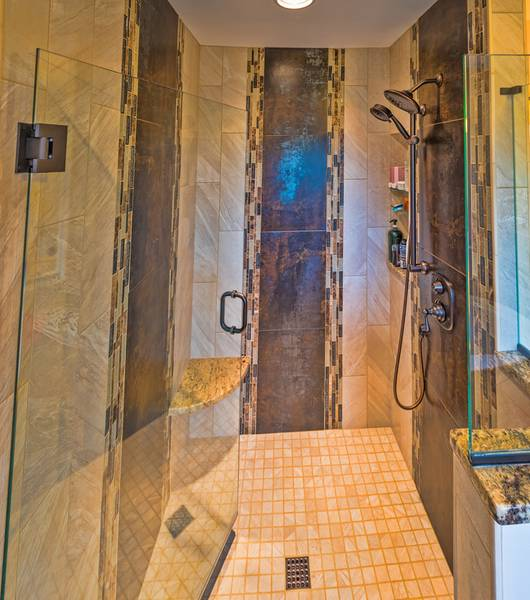 Master Shower Remodel