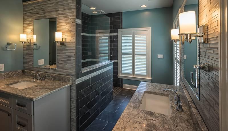 Bathroom Dual Vanity