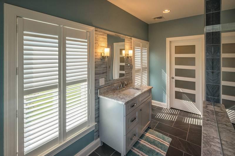 Gray Bathroom Vanity Remodel