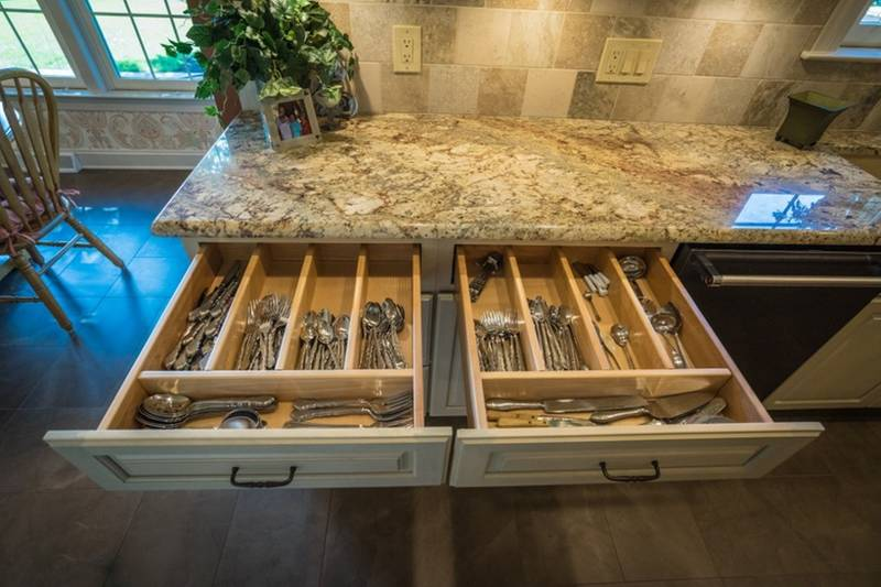 Custom Self Closing Drawers