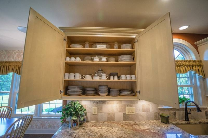 Custom Birch Cabinets