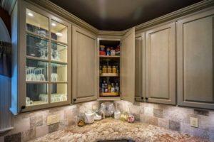 Ahlbrandt Custom Corner Cabinets Birch