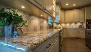 Ahlbrandt Custom Kitchen Cabinets with Granite