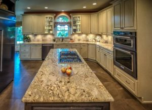 Granite Counter Tops and Custom Cabinets