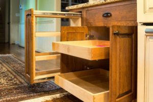 Custom Cabinetry Rollout Drawers