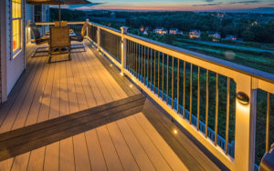 Lighted Outdoor Deck Railings