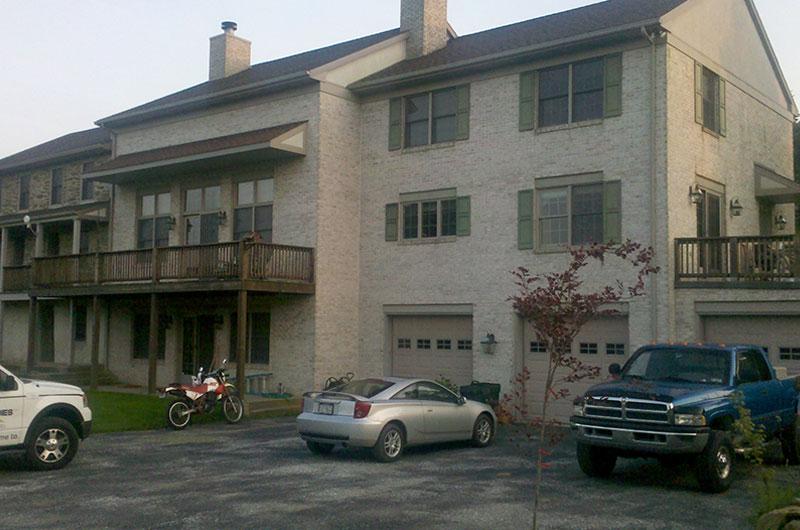 Before Home Exterior Renovation