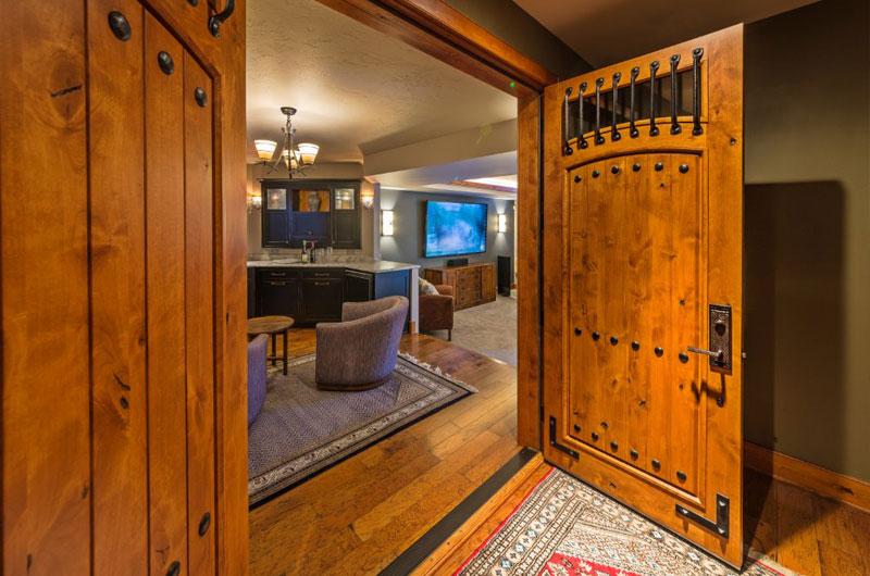 Custom Wooden Basement Doors